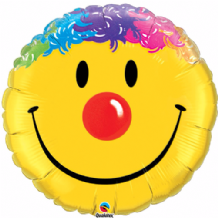 "Smile Face Foil Balloon (18"") 1pc"